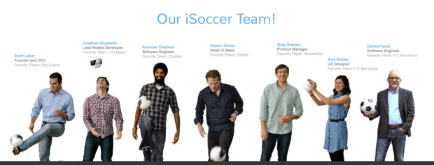 Awesome iSoccer Team