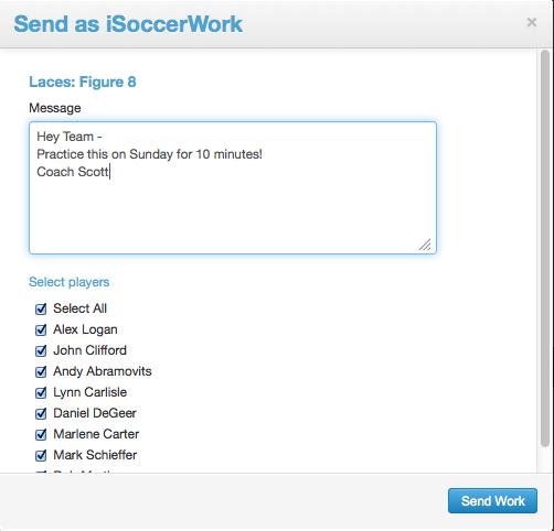iSoccer Work