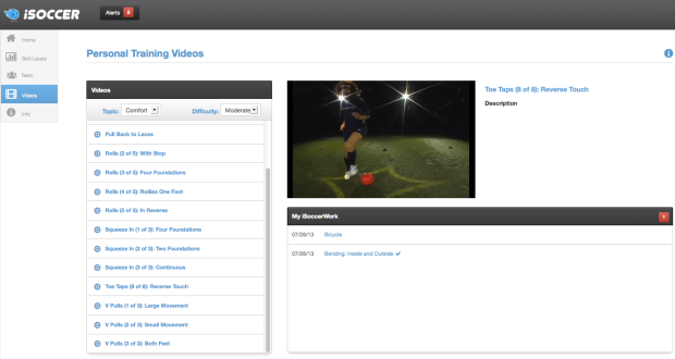 New Video Player Page